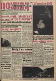 Nowiny Jeleniogórskie : magazyn ilustrowany ziemi jeleniogórskiej, R. 4, 1961, nr 37 (181)