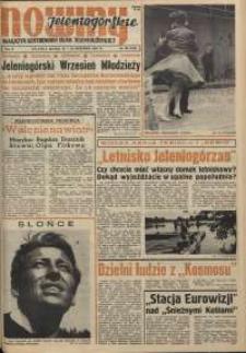 Nowiny Jeleniogórskie : magazyn ilustrowany ziemi jeleniogórskiej, R. 4, 1961, nr 38 (182)