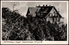 Góry Izerskie - Heufuderbaude - schronisko Na Stogu Izerskim [Dokument ikonograficzny]