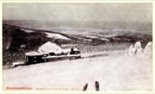 Karkonosze - schronisko Strzecha Akademicka zimą [Dokument ikonograficzny]