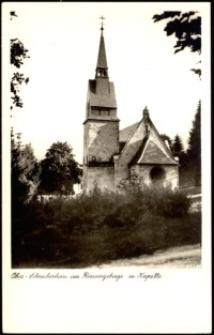 Szklarska Poręba Górna - kościół filialny Niepokalanego Serca NMP [Dokument ikonograficzny]