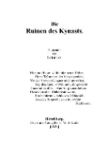 Die Ruinen des Kynasts [Dokument elektroniczny]