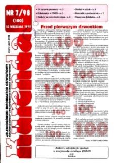 Kurenda : jeleniogórski informator oświatowy, 1998, nr 7 (100)