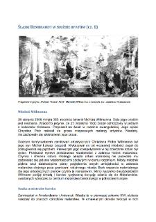 Śląski Rembrandt w służbie opatów (cz. 1)