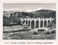 Hirschberg i. Riesengebirge. Boberviadukt, Ottilienberg und Schneegrubenblick [Dokument ikonograficzny]