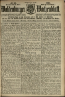 Waldenburger Wochenblatt, Jg. 47, 1901, nr 64