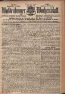Waldenburger Wochenblatt, Jg. 47, 1901, nr 67