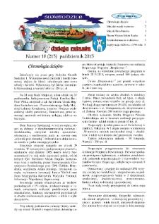 Świebodzice - Dzieje Miasta, 2015, nr 10 (215) [Dokument elektroniczny]