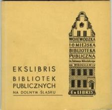Ekslibris bibliotek publicznych na Dolnym Śląsku : katalog