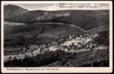 Brückenberg im Riesengebirge mit Schneekoppe [Dokument ikonograficzny]