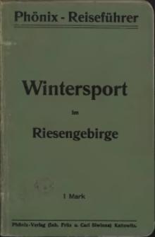 Wintersport im Riesengebirge: ein Ratgeber und Führer für Wintersbesucher