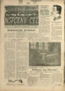 """Wspólny cel : Dwutygodnik samorządu robotniczego """"Celwiskozy"""" , 1959, nr 3 (98)"""