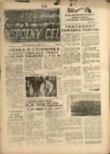 """Wspólny cel : Dwutygodnik samorządu robotniczego """"Celwiskozy"""", 1959, nr 11 (106)"""