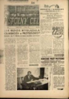 """Wspólny cel : Dwutygodnik samorządu robotniczego """"Celwiskozy"""" , 1959, nr 14 (109)"""