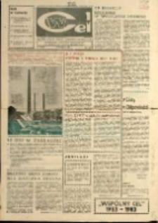 """Wspólny cel : Gazeta załogi ZWCH """"Chemitex - Celwiskoza"""" , 1983, nr 25 (890)"""