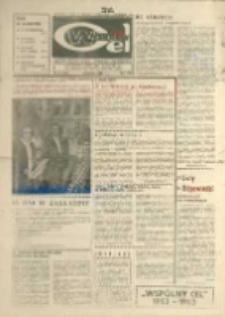 """Wspólny cel : Gazeta załogi ZWCH """"Chemitex - Celwiskoza"""" , 1983, nr 34 (899)"""