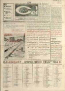 """Wspólny cel : Gazeta załogi ZWCH """"Chemitex - Celwiskoza"""" , 1983, nr 36 (901)"""