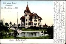 Villa Max Erfurt Straupitz bei Hirschberg i. Schl. [Dokument ikonograficzny]