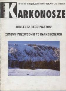 Karkonosze: Kultura i Turystyka, 1995, nr 6 (206)