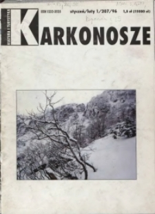 Karkonosze: Kultura i Turystyka, 1996, nr 1 (207)