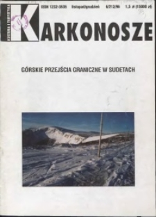Karkonosze: Kultura i Turystyka, 1996, nr 6 (212)
