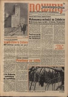 Nowiny Jeleniogórskie : magazyn ilustrowany ziemi jeleniogórskiej, R. 6, 1963, nr 8 (256)