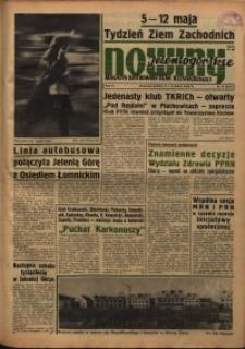 Nowiny Jeleniogórskie : magazyn ilustrowany ziemi jeleniogórskiej, R. 6, 1963, nr 19 (267)