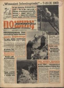 Nowiny Jeleniogórskie : magazyn ilustrowany ziemi jeleniogórskiej, R. 6, 1963, nr 36 (284)