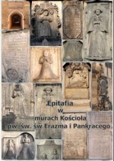 Epitafia w murach Kościoła pw. św. św. Erazma i Pankracego w Jeleniej Górze [Dokument elektroniczny]