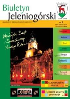 Biuletyn Jeleniogórski : bezpłatny miesięcznik informacyjny, 2007/2008, nr 1 (grudz./stycz.)