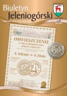 Biuletyn Jeleniogórski : bezpłatny miesięcznik informacyjny, 2008, nr 5