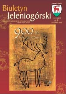 Biuletyn Jeleniogórski : bezpłatny miesięcznik informacyjny, 2008, nr 6
