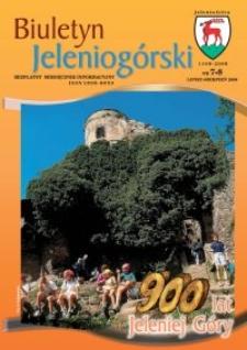Biuletyn Jeleniogórski : bezpłatny miesięcznik informacyjny, 2008, nr 7-8
