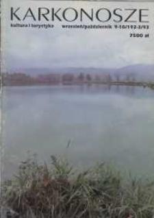 Karkonosze: Kultura i Turystyka, 1993, nr 9/10 (192/3)