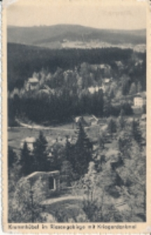 Krummhübel im Riesengebirge mit Kriegerdenkmal [Dokument ikonograficzny]