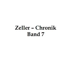 Zeller-Chronik. Bd. 7 [Dokument elektroniczny]