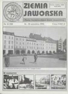 Ziemia Jaworska : pismo samorządowe Ziemi Jaworskiej, 1994, nr 10