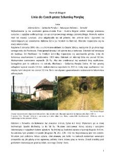 Linia do Czech przez Szkarską Porębę [Dokument elektroniczny]