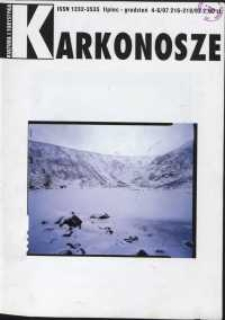 Karkonosze: Kultura i Turystyka, 1997, nr 4-6 (216-18)