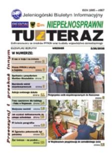 Niepełnosprawni Tu i Teraz : jeleniogórski biuletyn informacyjny niepełnosprawnych, 2008, nr 5 (26)