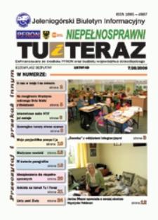 Niepełnosprawni Tu i Teraz : jeleniogórski biuletyn informacyjny niepełnosprawnych, 2008, nr 7 (28)