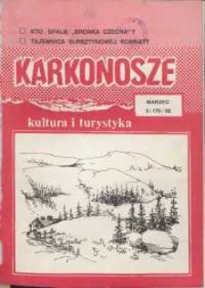Karkonosze: Kultura i Turystyka, 1992, nr 3 (175)