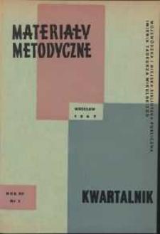 Materiały metodyczne : kwartalnik, R. XII, 1967, nr 2