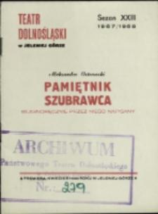 Pamiętnik szubrawca - program [Dokument życia społecznego]