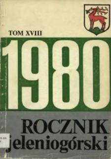 Rocznik Jeleniogórski, T. 18 (1980)