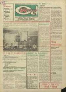 """Wspólny cel : gazeta załogi ZWCH """"Chemitex-Celwiskoza"""", 1983, nr 30 (895)"""