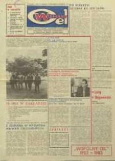 """Wspólny cel : gazeta załogi ZWCH """"Chemitex-Celwiskoza"""", 1983, nr 33 (898)"""
