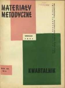 Materiały metodyczne : kwartalnik, R. XVI, 1971, nr 2