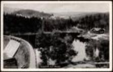 Karpacz - zapora wodna na potoku Łomnica [Dokument ikonograficzny]