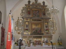 Renesansowy ołtarz przed rekonstrukcją [Dokument ikonograficzny]